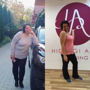 Judit fogyás -15kg